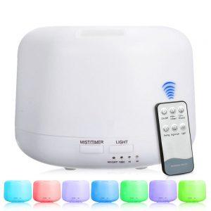 מפיץ ריח חשמלי במגוון צבעים
